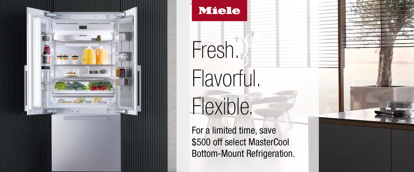 Save $500 on select Miele refrigerators
